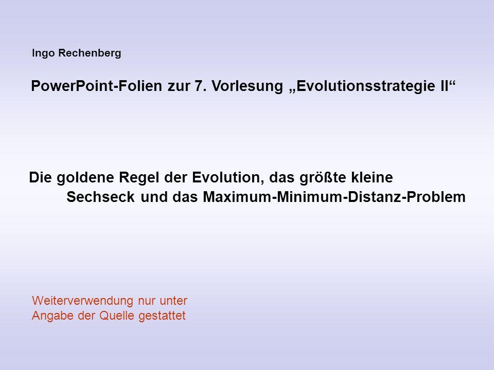 Zur Theorie der Evolutionsstrategie Bewiesenes und Unbewiesenes