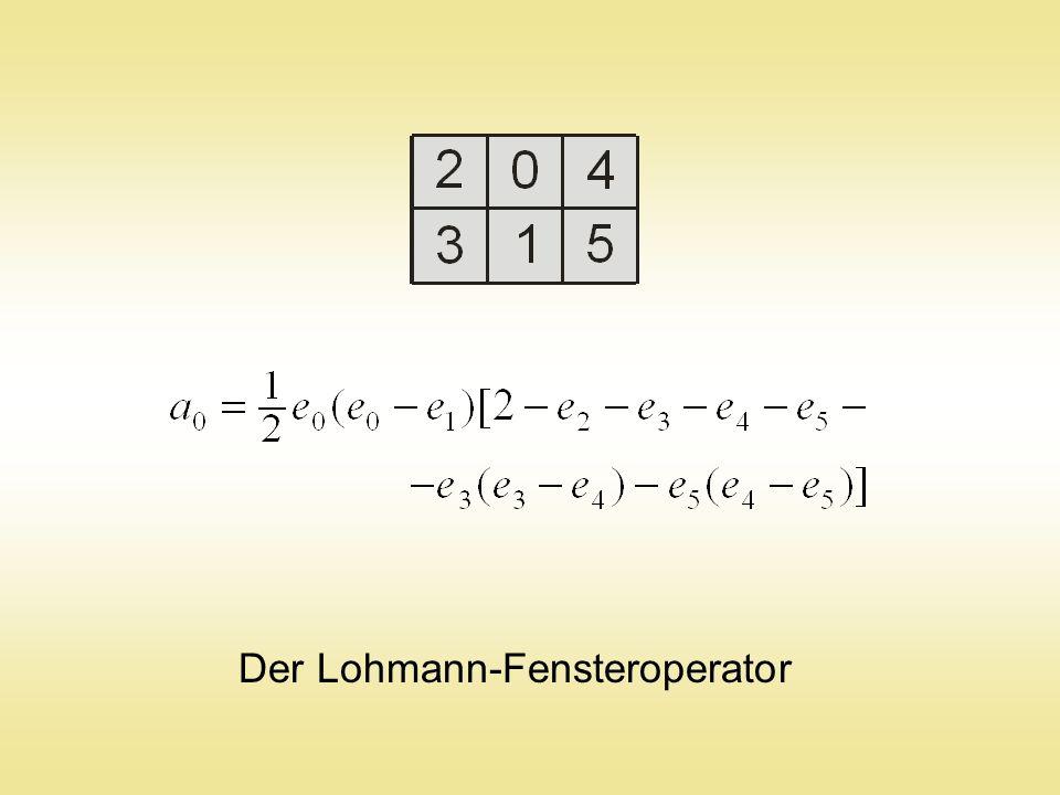Der Lohmann-Fensteroperator