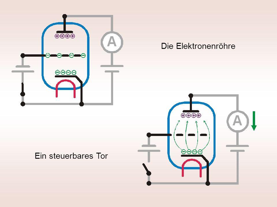 Die Elektronenröhre Ein steuerbares Tor