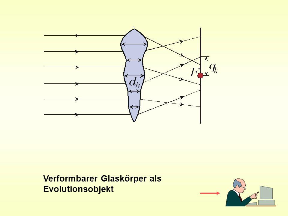 Verformbarer Glaskörper als Evolutionsobjekt