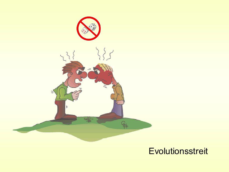Algorithmus der zweigliedrigen Evolutionsstrategie x = Variablenvektor = Mutationsschrittweite z = Normalverteilter Zufallsvektor N = Index Nachkomme E = Index Elter Q = Qualität (Tauglichkeit) g = Generationenzähler z.