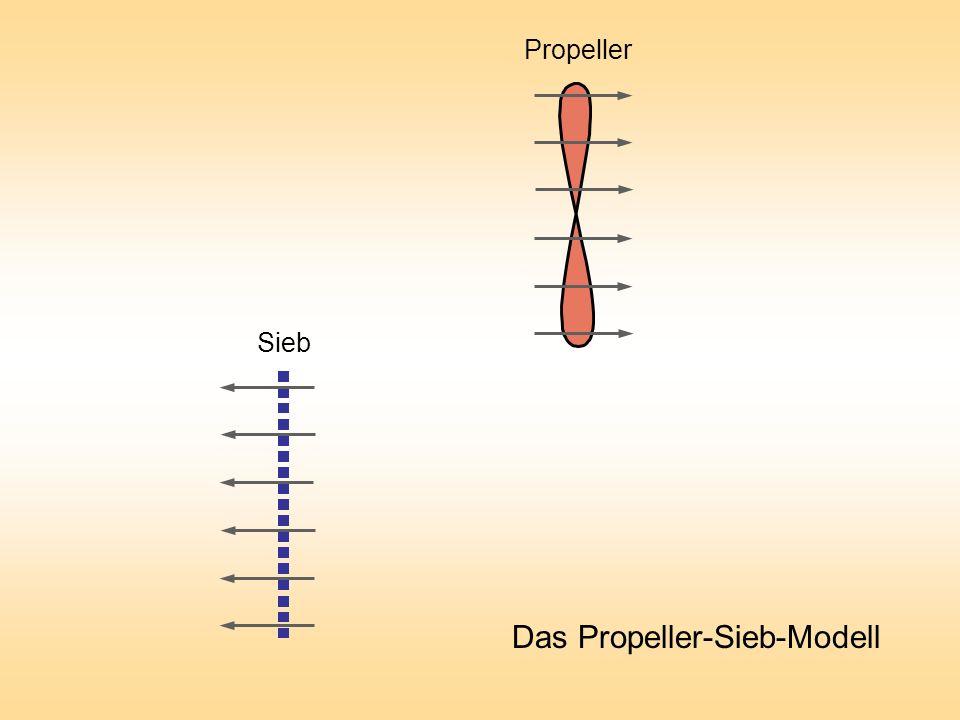 Das Propeller-Sieb-Modell Sieb Propeller