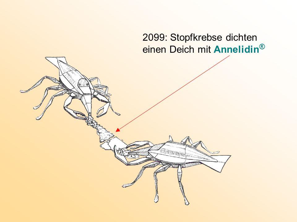 2099: Stopfkrebse dichten einen Deich mit Annelidin ®