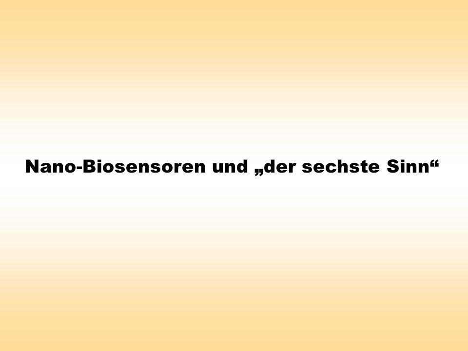 Nano-Biosensoren und der sechste Sinn