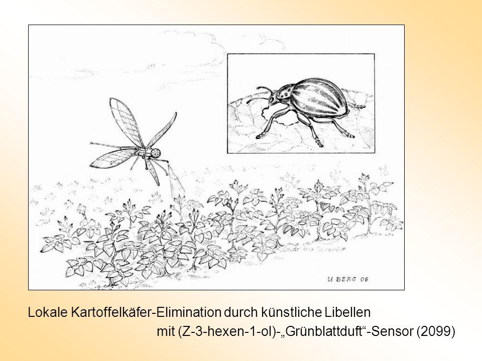 Lokale Kartoffelkäfer-Elimination durch künstliche Libellen mit (Z-3-hexen-1-ol)-Grünblattduft-Sensor (2099)