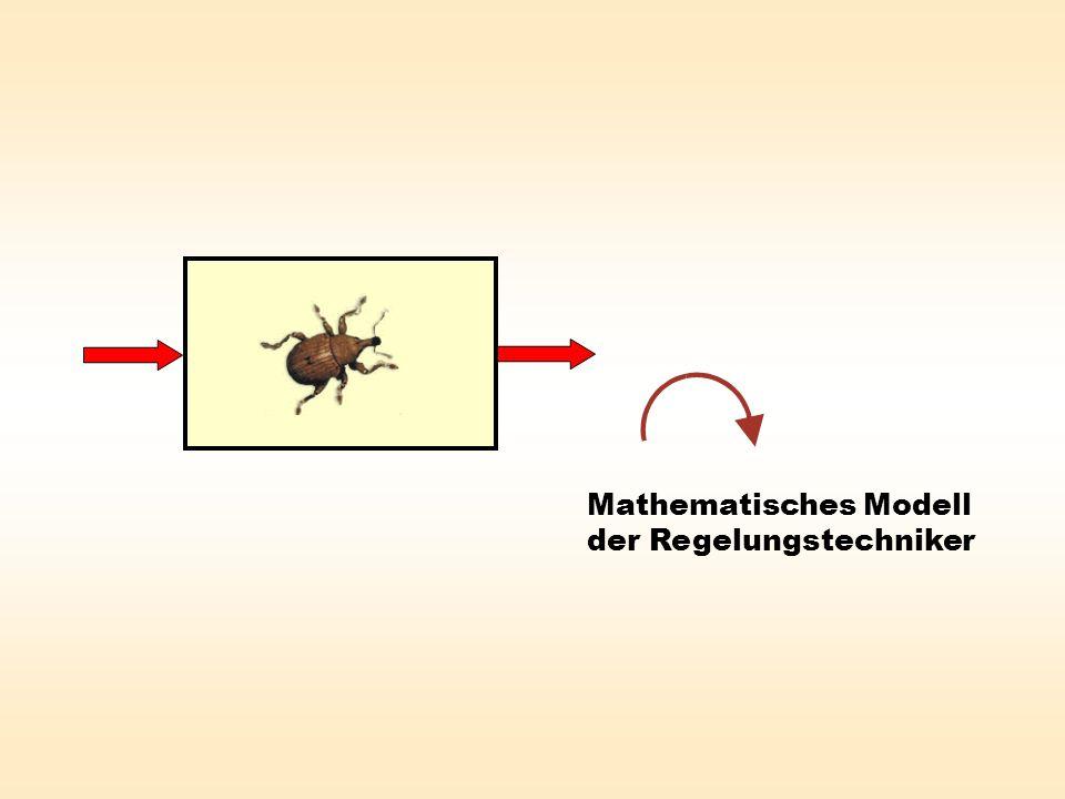 Mathematisches Modell der Regelungstechniker