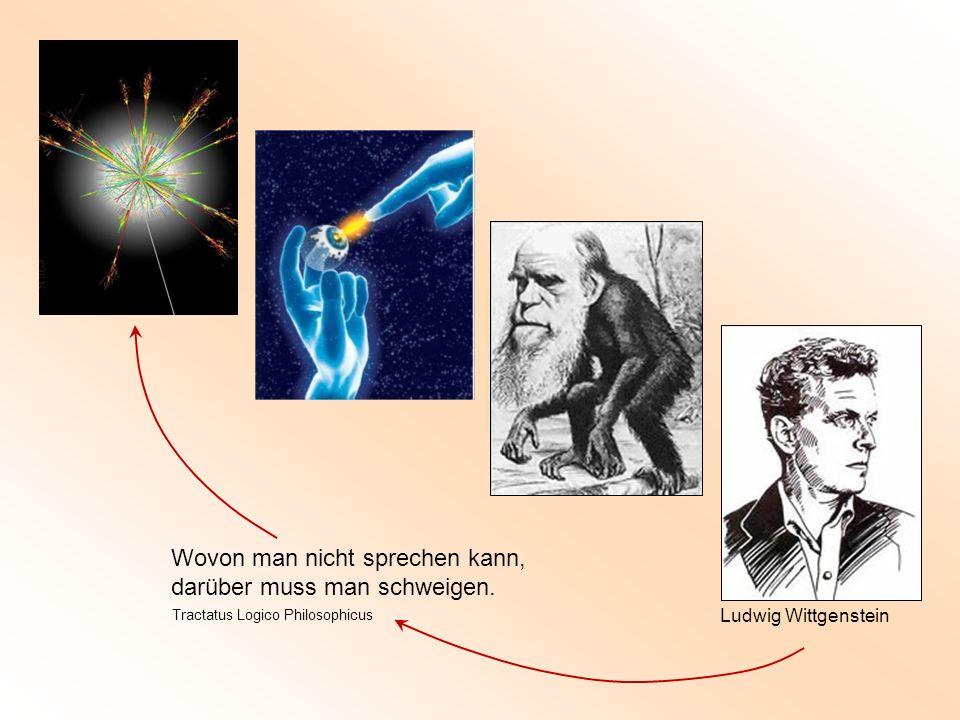 Ludwig Wittgenstein Wovon man nicht sprechen kann, darüber muss man schweigen. Tractatus Logico Philosophicus