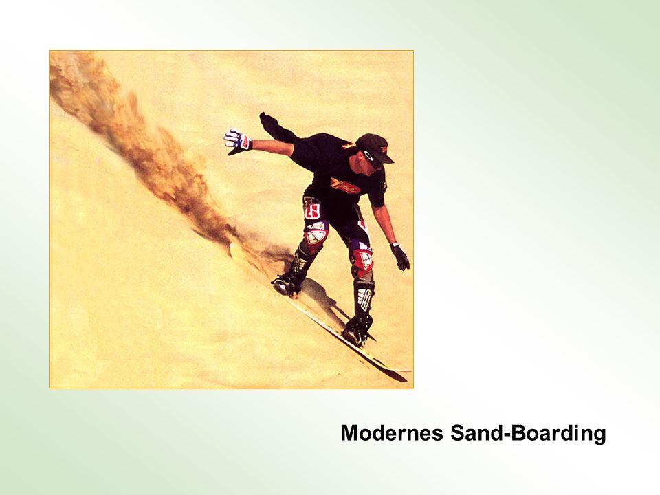 Modernes Sand-Boarding