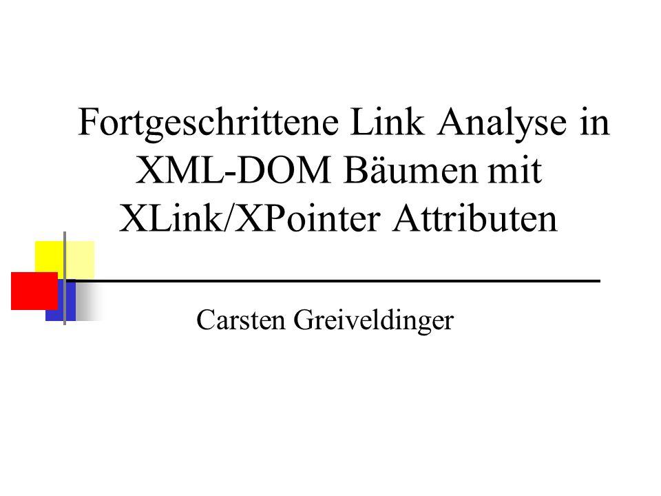 Motivation Finden spezifischer Informationen in XML-Daten Situation: Ganzes Dokument als Suchergebnis Interessant ist aber nur kleiner Teil