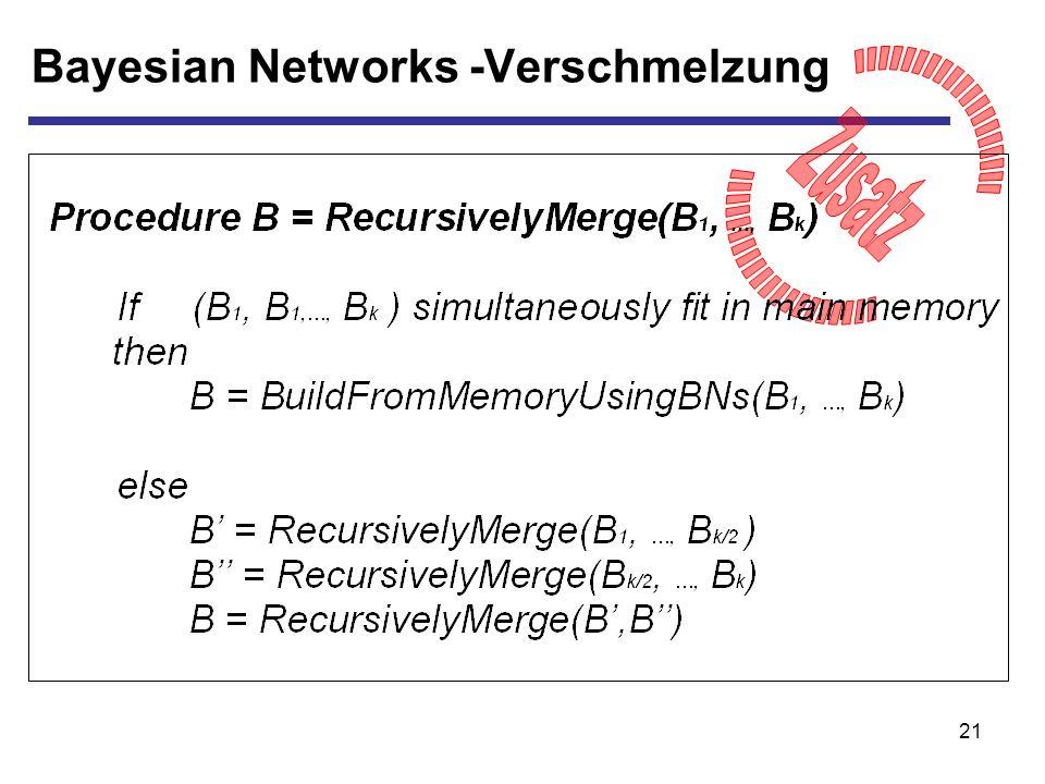 21 Bayesian Networks -Verschmelzung