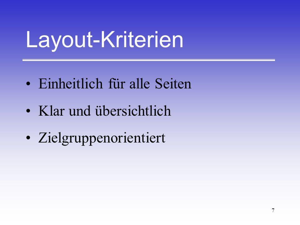 18 Literatur Gulbins, Jürgen; Kahrmann, Christine: Mut zur Typographie - Ein Kurs für DTP, zweite, überarbeitete und erweiterte Auflage.