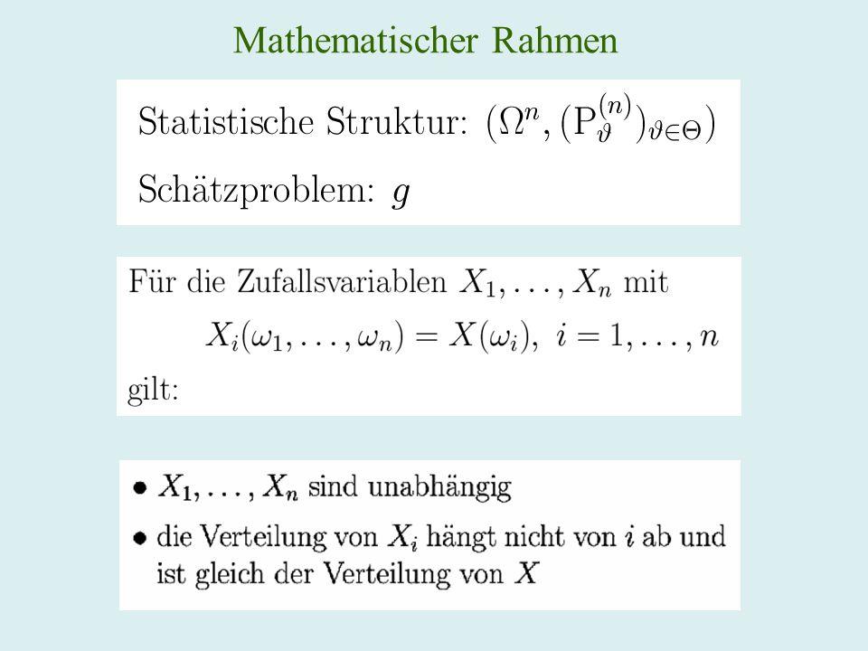 Statistische Struktur diskret stetig