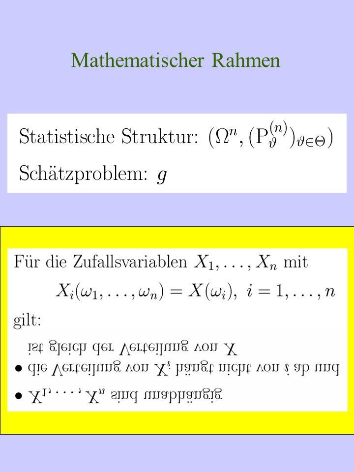 Mittelwerte der Klassen und Gesamtmittelwert