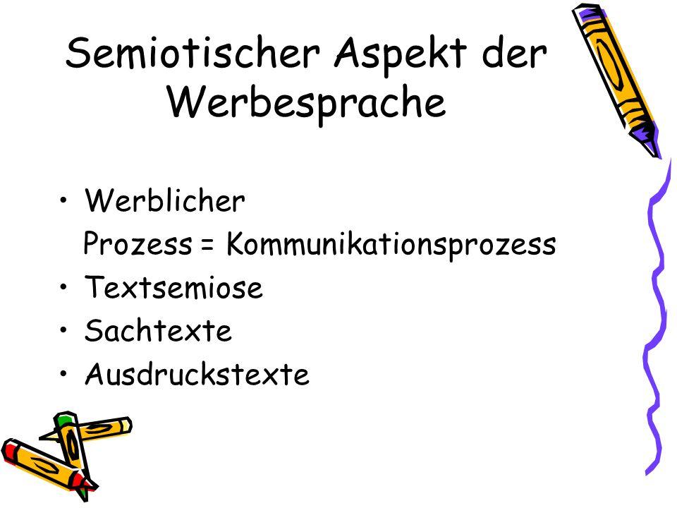 Textsemiose Adjektive/Attribute Verben Substantive Funktoren vs. Substantive