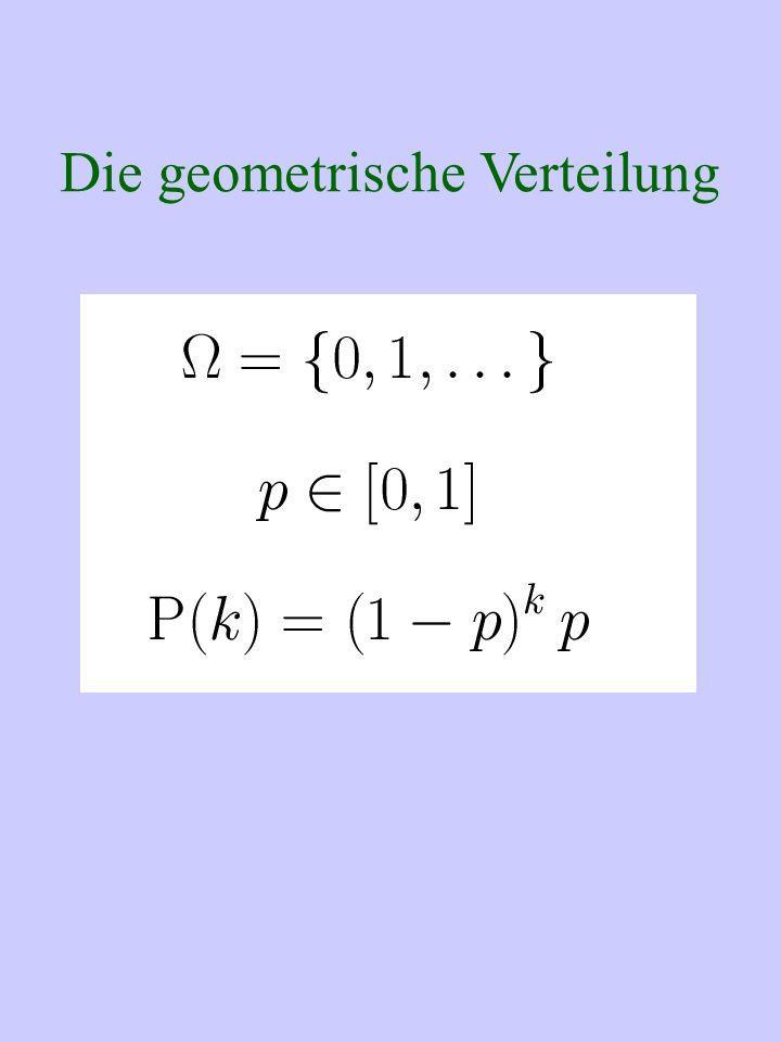 Die geometrische Verteilung