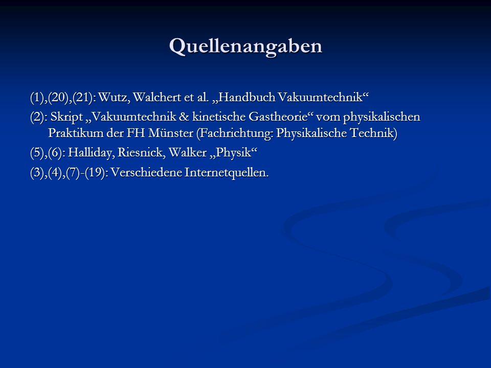 Quellenangaben (1),(20),(21): Wutz, Walchert et al.