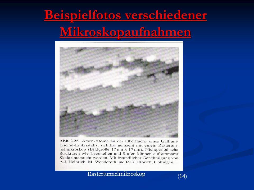 Beispielfotos verschiedener Mikroskopaufnahmen Rastertunnelmikroskop (14)