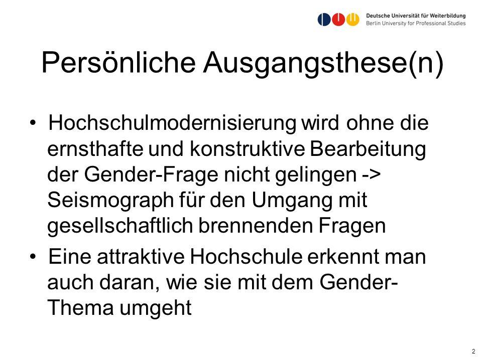Leipzig 5.6.2013 13 Fazit Unter bestimmten Bedingungen ist Wissenschafts- und Hochschulmanagement ein interessantes Berufsfeld für Frauen Alle Talente von Frauen müssen für eine innovative Entwicklung von Hochschulen genützt werden
