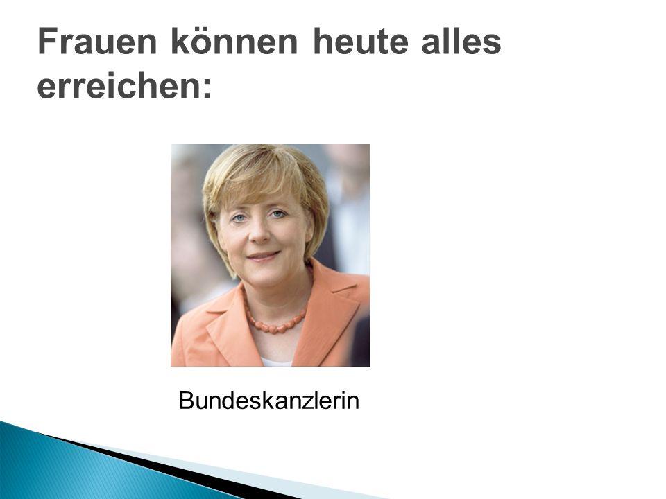 Frauen: Bessere Bildungsvoraussetzungen Doppelorientierung an Beruf u.