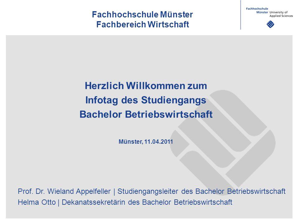 Prof. Dr. Wieland Appelfeller | Studiengangsleiter des Bachelor Betriebswirtschaft Helma Otto | Dekanatssekretärin des Bachelor Betriebswirtschaft Fac