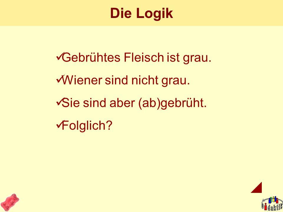 AkadOR W. Wagner, Didaktik der Chemie, Universität Bayreuth Die 100-Euro-Frage. Welche Wurst (alle drei: Göttinger) ist frisch? A B C D: gar keine? Si
