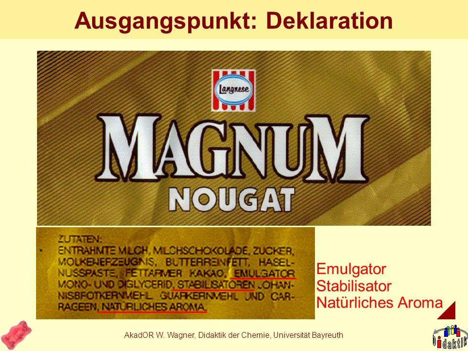 Beispiel: Herstellung von Eiskrem...ein etwas komplexeres Thema zum Lernbereich Kohlenhydrate bzw. (Fett)Ersatzstoffe