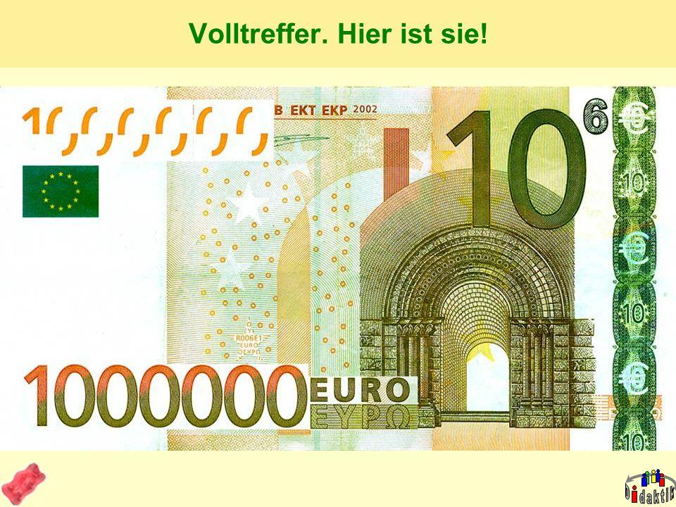 AkadOR W. Wagner, Didaktik der Chemie, Universität Bayreuth Die 1.000.000-Euro-Frage! Wer zahlt das Preisgeld aus? A: Kultusministerium SH B: Herr Lin