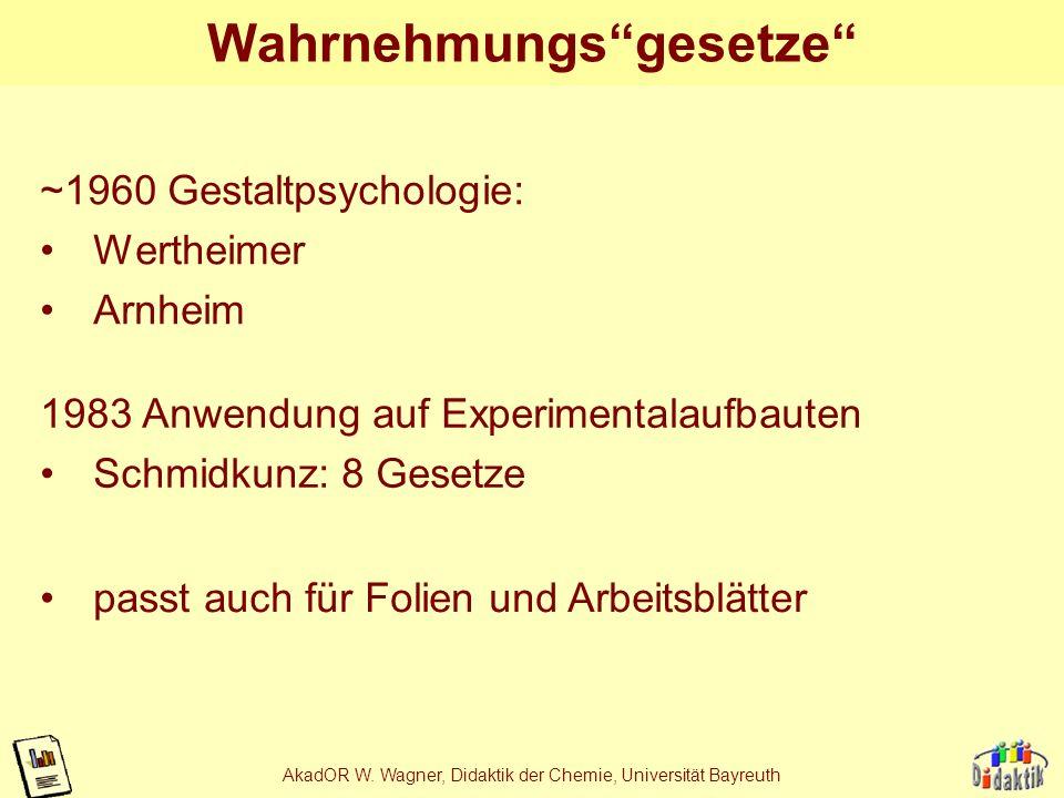 AkadOR W. Wagner, Didaktik der Chemie, Universität Bayreuth Glykolyse: Varianten im Vergleich
