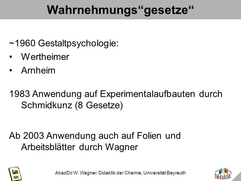 AkadDir W. Wagner, Didaktik der Chemie, Universität Bayreuth Glykolyse: Varianten im Vergleich