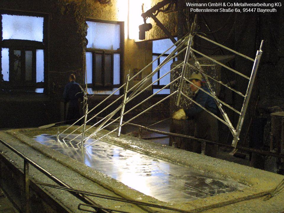 Weimann GmbH & Co Metallverarbeitung KG Pottensteiner Straße 6a, 95447 Bayreuth