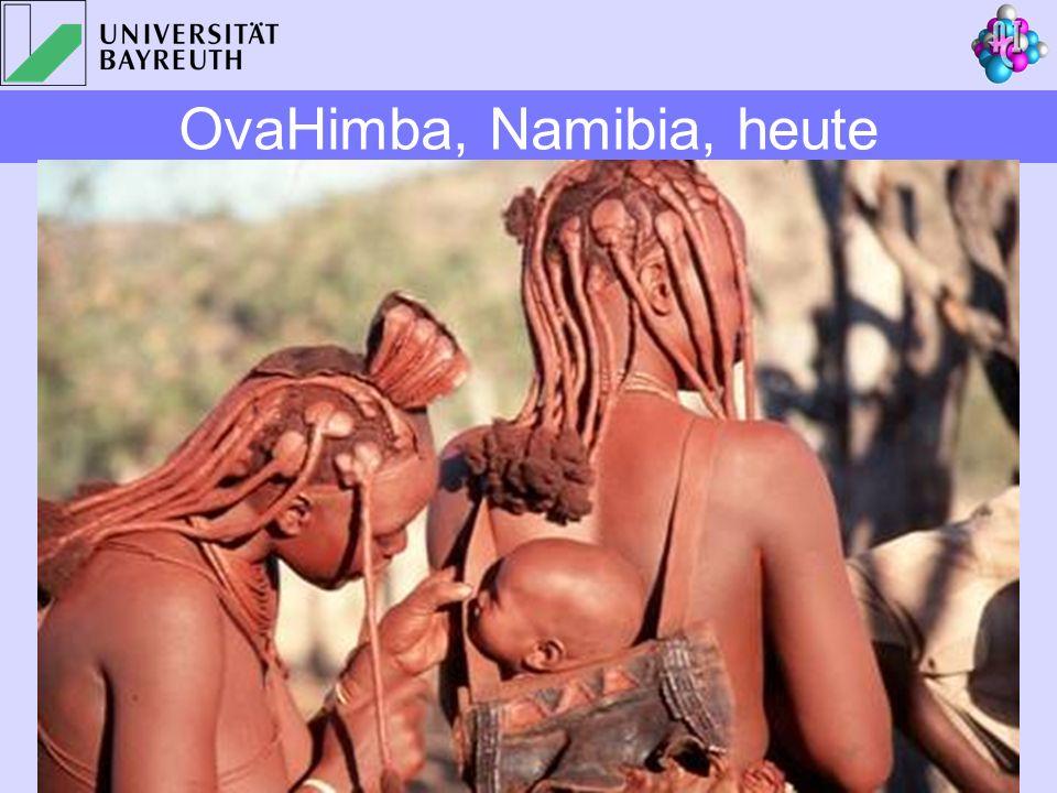 OvaHimba, Namibia, heute