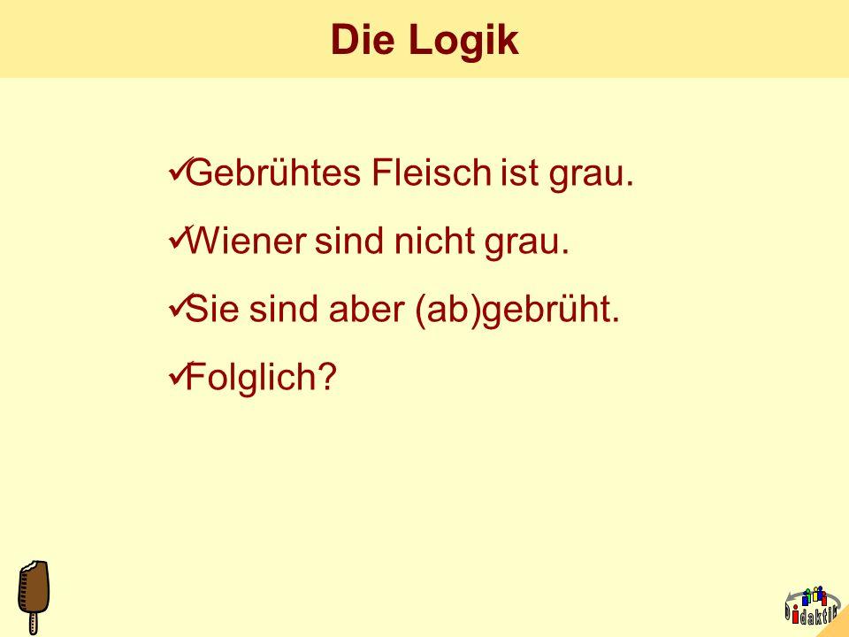 AkadOR W. Wagner, Didaktik der Chemie, Universität Bayreuth Die 1000-Euro-Frage. Welche Wurst (alle drei: Göttinger) ist frisch? A B C D: alle drei? S