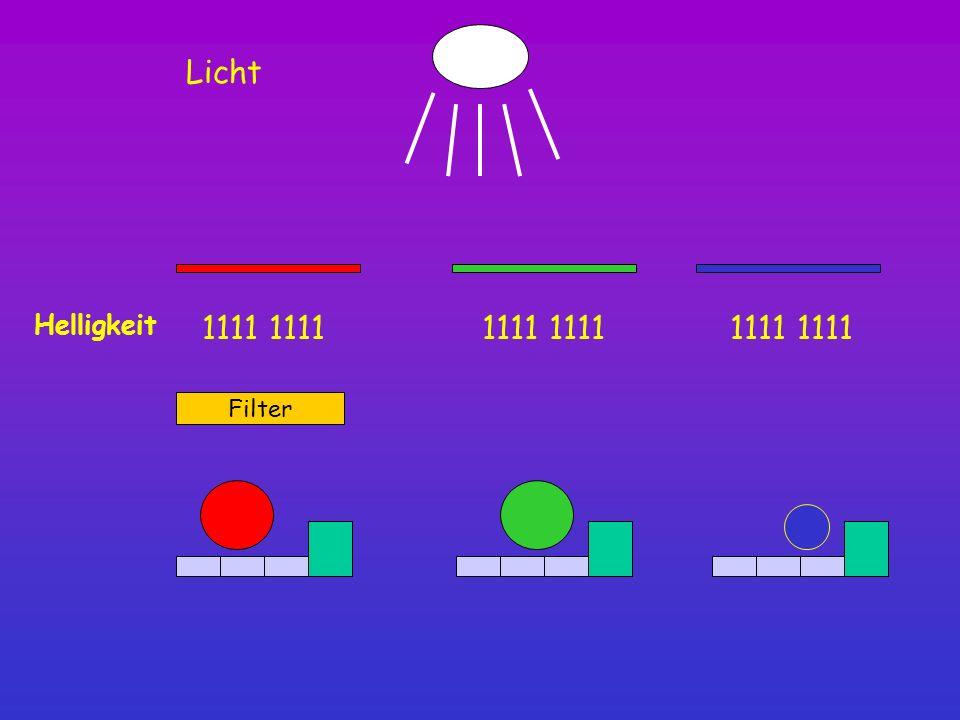 Helligkeit 1111 Filter Licht
