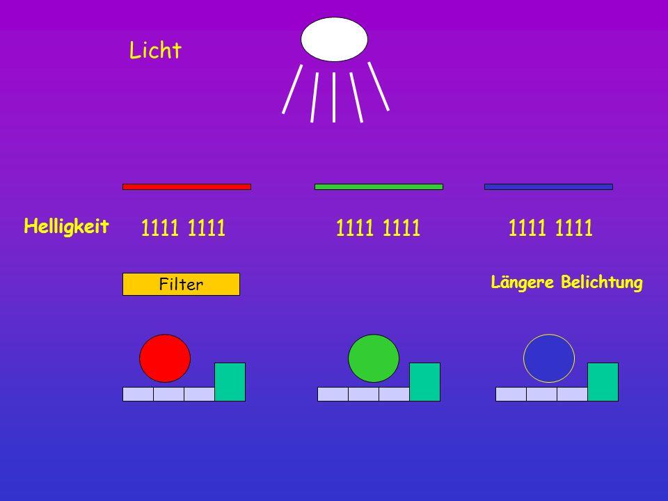 Helligkeit 1111 Filter Längere Belichtung Licht
