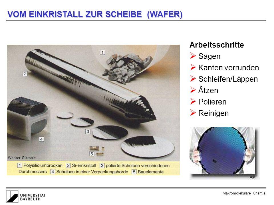 Makromolekulare Chemie FELDEFFEKTTRANSISTOR Hoechst High-Chem Magazin...