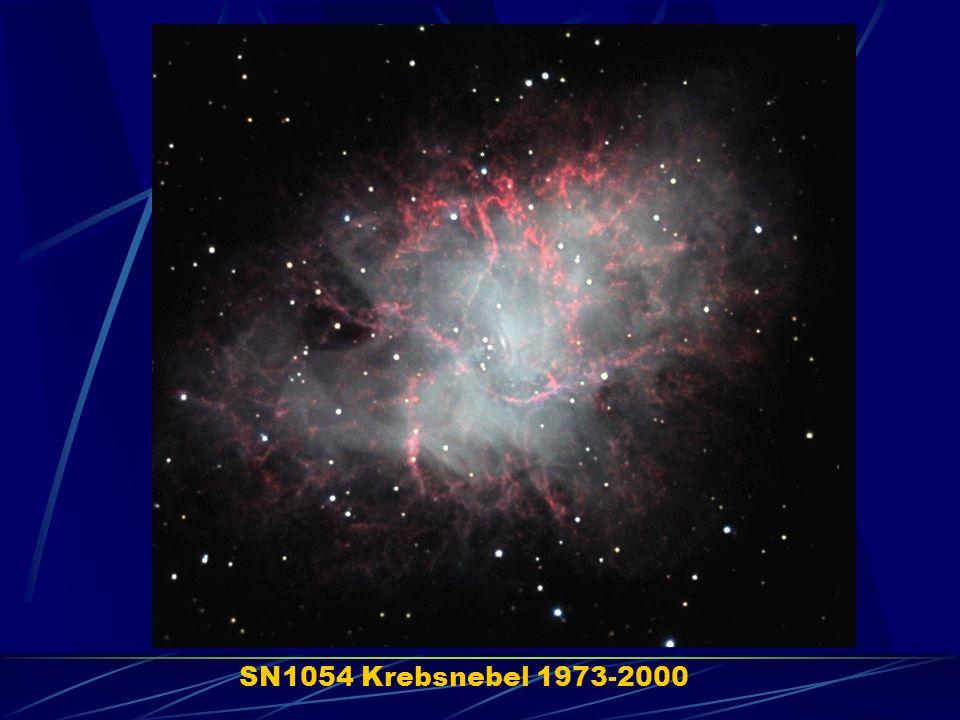 SN1054 Krebsnebel 1973-2000