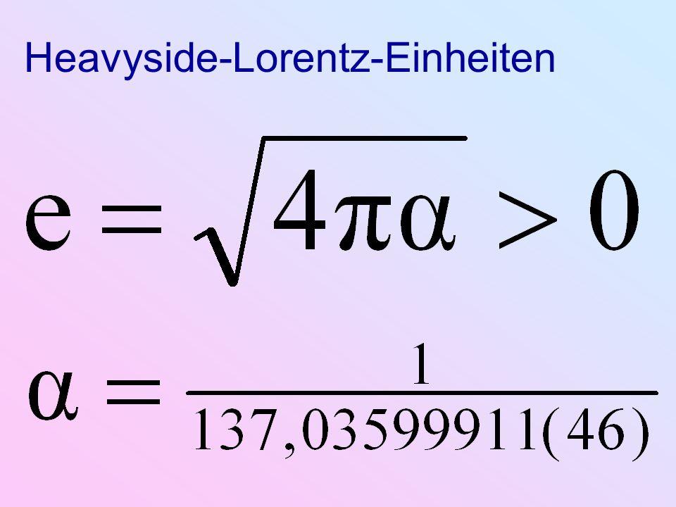 Heavyside-Lorentz-Einheiten