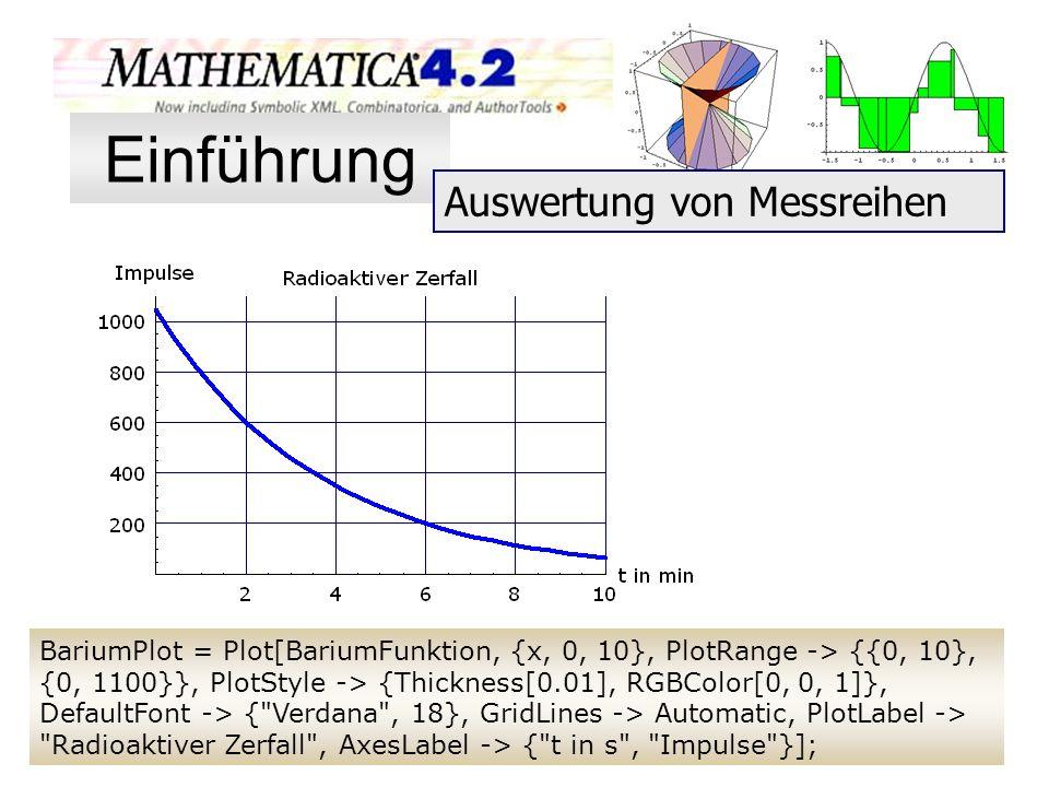 BariumPlot = Plot[BariumFunktion, {x, 0, 10}, PlotRange -> {{0, 10}, {0, 1100}}, PlotStyle -> {Thickness[0.01], RGBColor[0, 0, 1]}, DefaultFont -> {