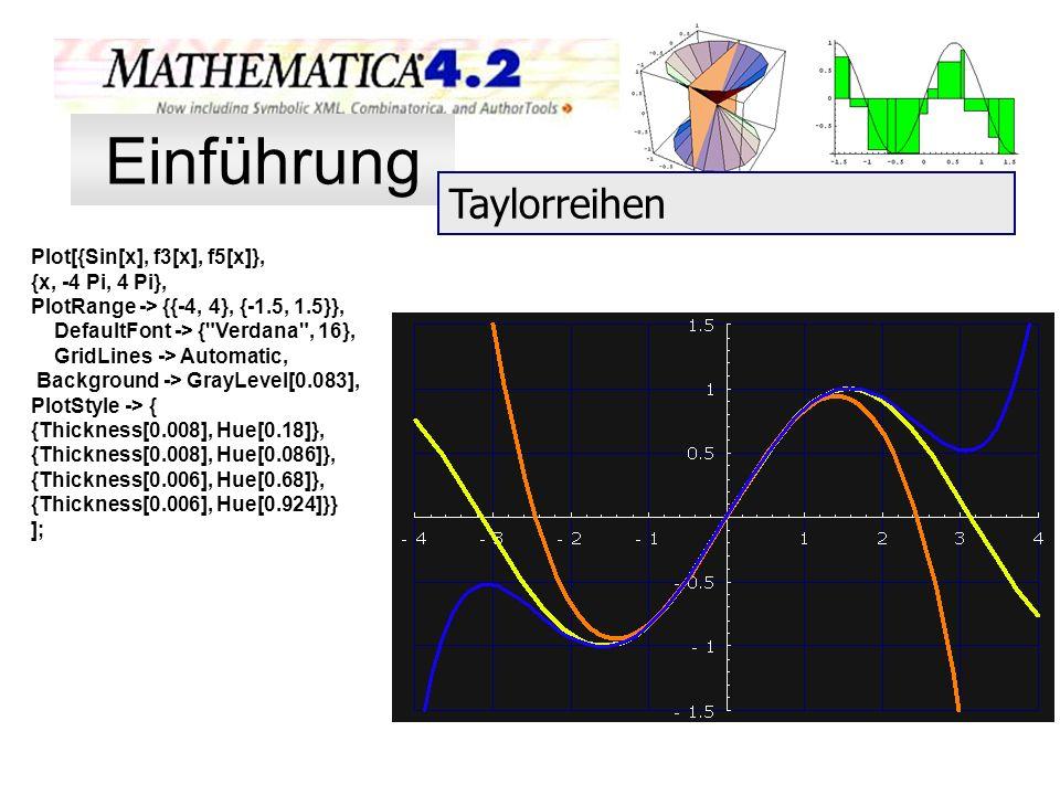 Plot[{Sin[x], f3[x], f5[x]}, {x, -4 Pi, 4 Pi}, PlotRange -> {{-4, 4}, {-1.5, 1.5}}, DefaultFont -> {