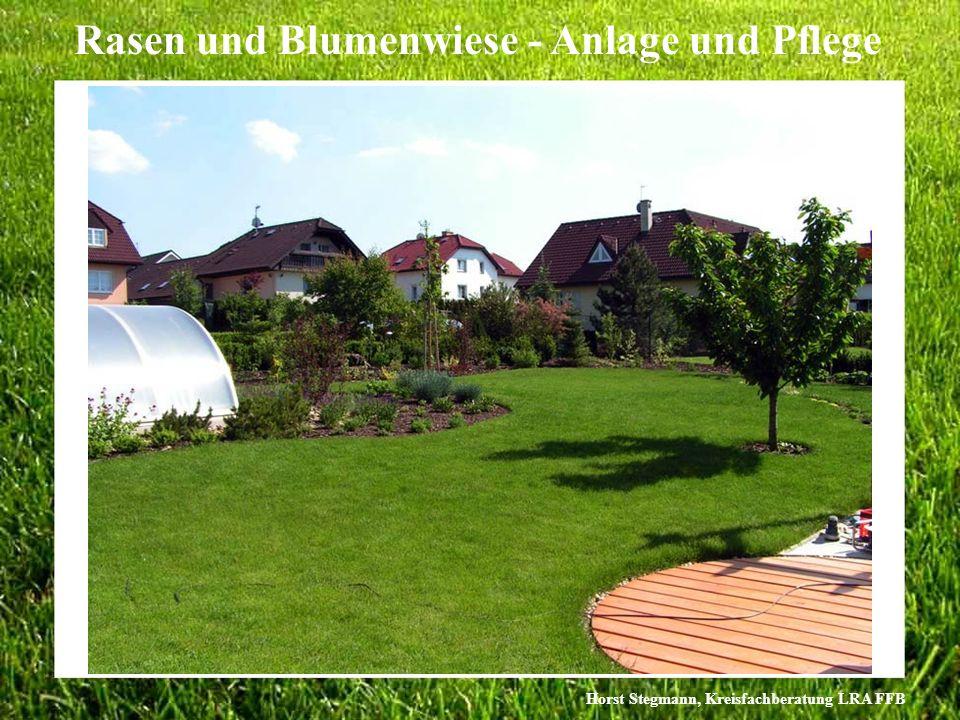 Horst Stegmann, Kreisfachberatung LRA FFB Rasen und Blumenwiese - Anlage und Pflege