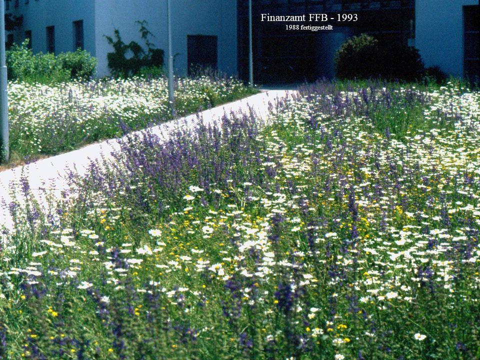 Horst Stegmann, Kreisfachberatung LRA FFB Rasen und Blumenwiese - Anlage und Pflege Finanzamt FFB - 1993 1988 fertiggestellt
