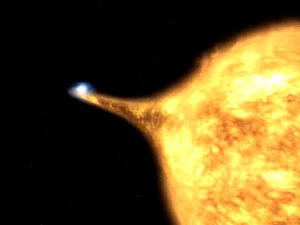 Typ I Supernova Annahmen: akkretierender Weißer Zwerg in Doppelsternsystem, der über Chandrasekhargrenze anwächst Stern wird dabei vermutlich zerstört