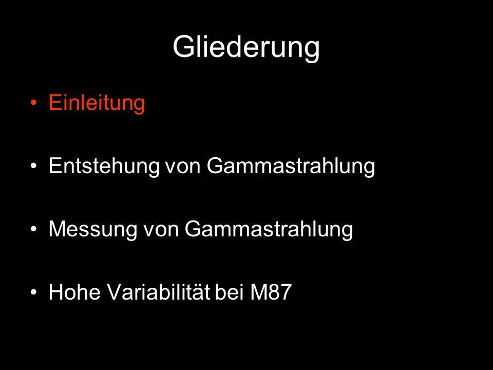 Radiogalaxie M 87 Jet Zentrum mit schwarzem Loch