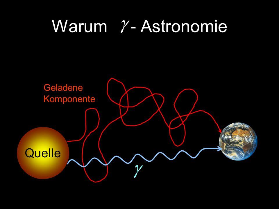 Warum - Astronomie Quelle Geladene Komponente