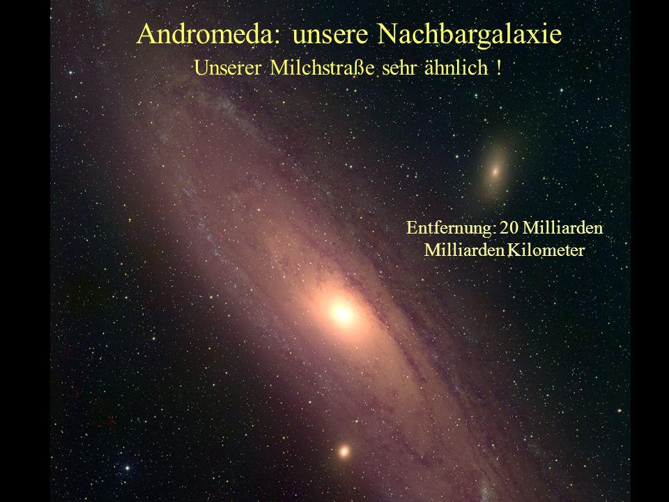 Unsere Heimat in der Milchstraße Unser Sonnensystem Eine Milliarde Milliarden Kilometer