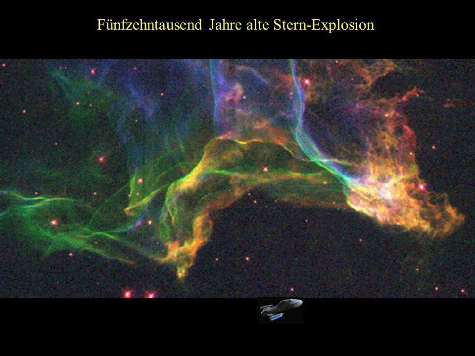 Sternexplosion vor 900 Jahren Krebs-Nebel