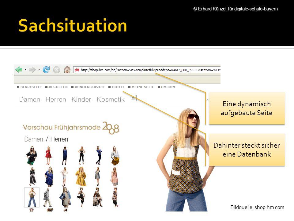 Wir interessieren uns für Sonderangebote Aber nicht nur für Männer © Erhard Künzel für digitale-schule-bayern Bildquelle: shop.hm.com