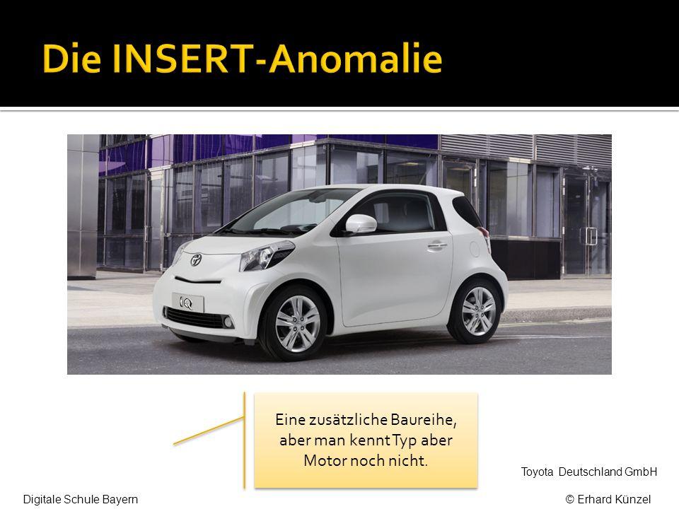 Eine zusätzliche Baureihe, aber man kennt Typ aber Motor noch nicht. Toyota Deutschland GmbH Digitale Schule Bayern© Erhard Künzel