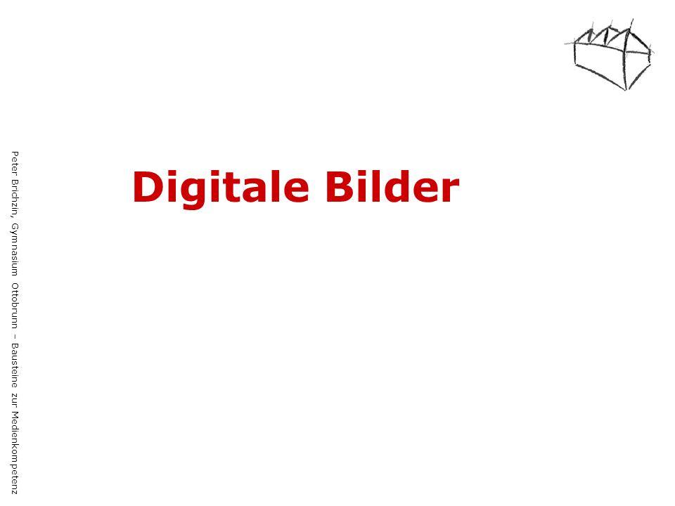 Peter Brichzin, Gymnasium Ottobrunn – Bausteine zur Medienkompetenz Digitale Bilder