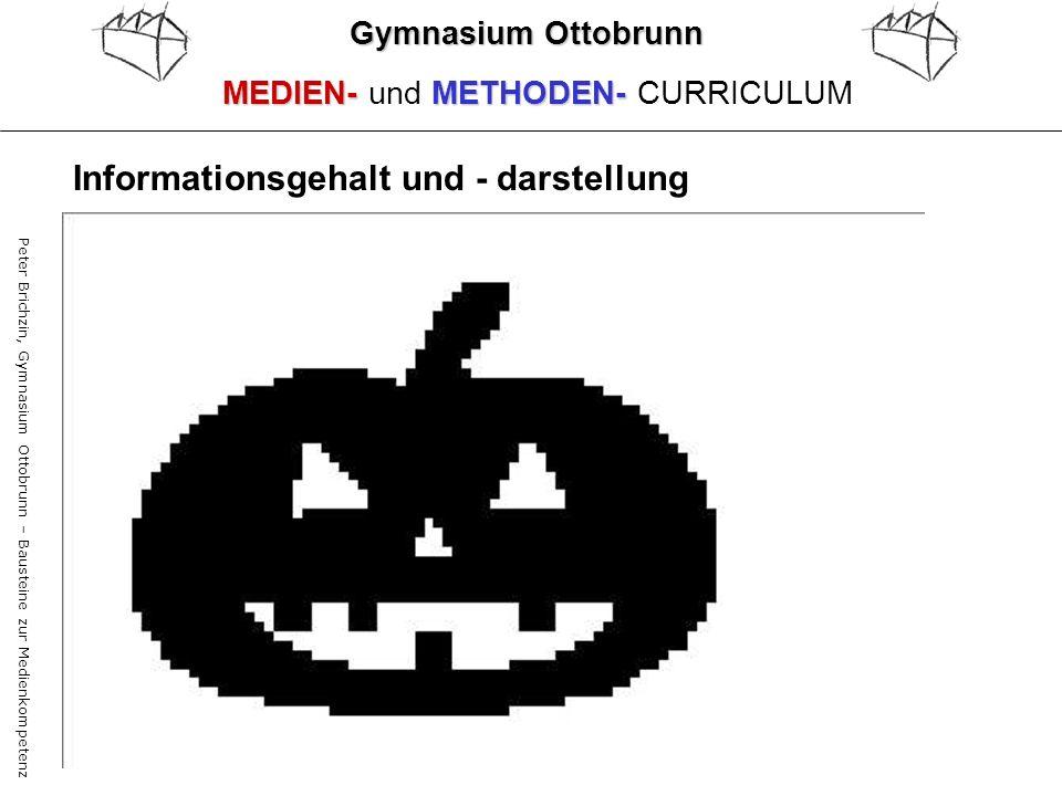 Peter Brichzin, Gymnasium Ottobrunn – Bausteine zur Medienkompetenz Gymnasium Ottobrunn MEDIEN-METHODEN- MEDIEN- und METHODEN- CURRICULUM Informations